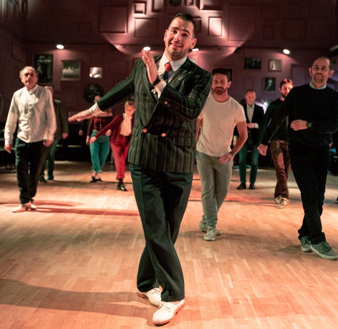 Sede della scuola di ballo del mondo Swing Crazy Swing School a Bologna.